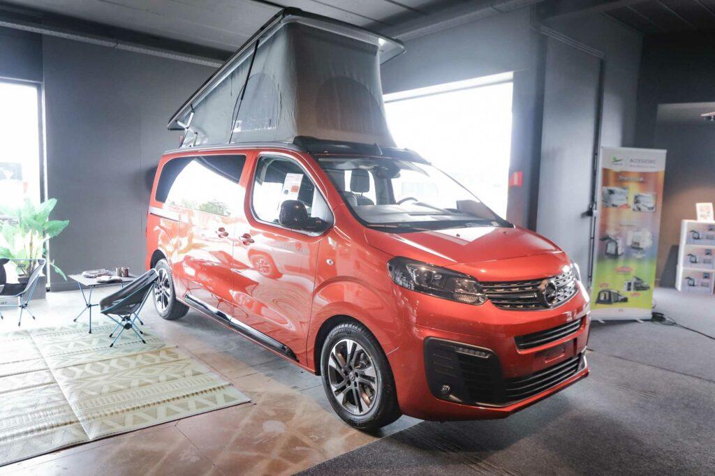 Crosscamp Flex | Opel Zafira 145 pk